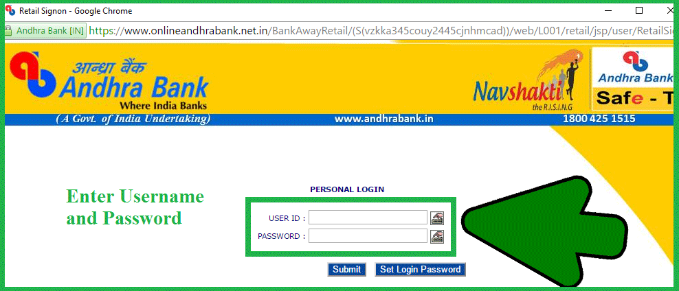 Www Bank Of India Retail Login