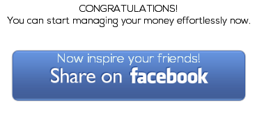 Inspire and share with friends about managining money effortlessly
