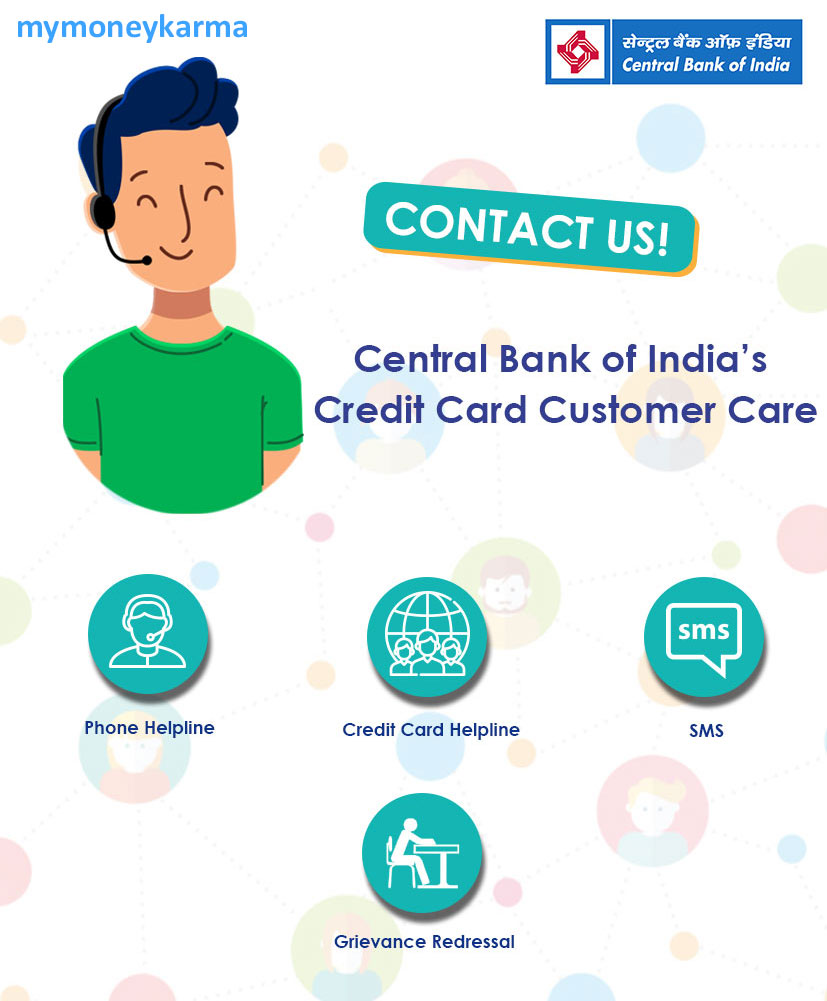 central bank of india credit card Customer Care