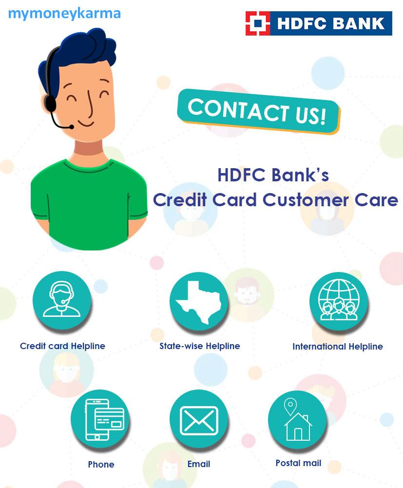 Hdfc Bank Credit Card Customer Care 24x7 Toll Free Helpline