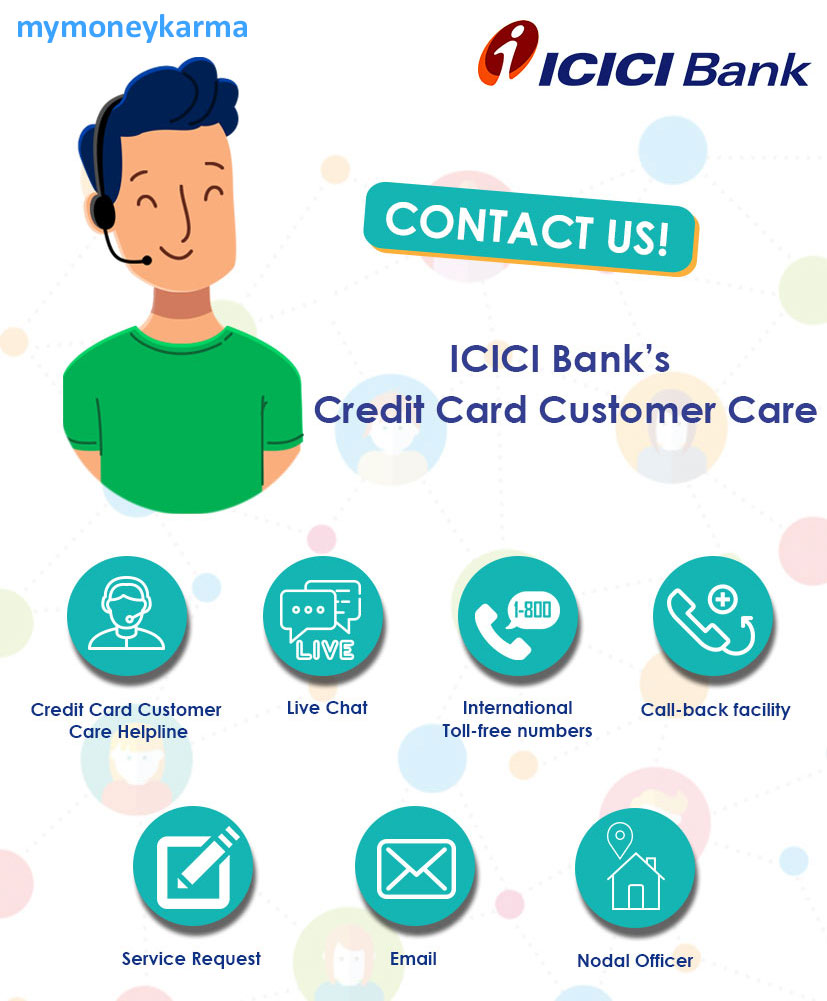ICICI Bank credit card Customer Care