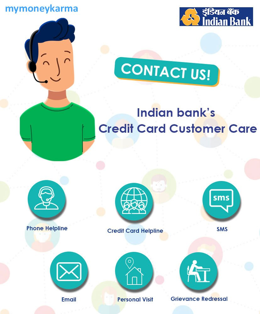 Indian Bank credit card Customer Care