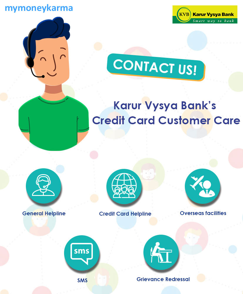 karur vysya Bank credit card Customer Care