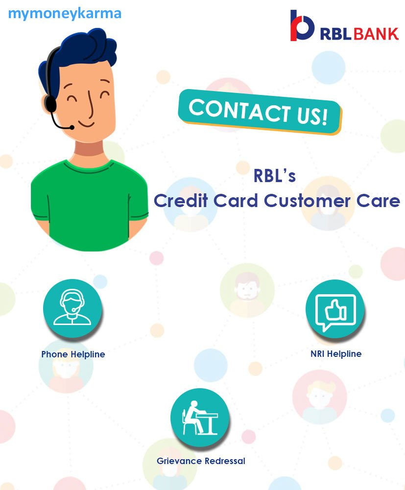 rbl bank credit card Customer Care