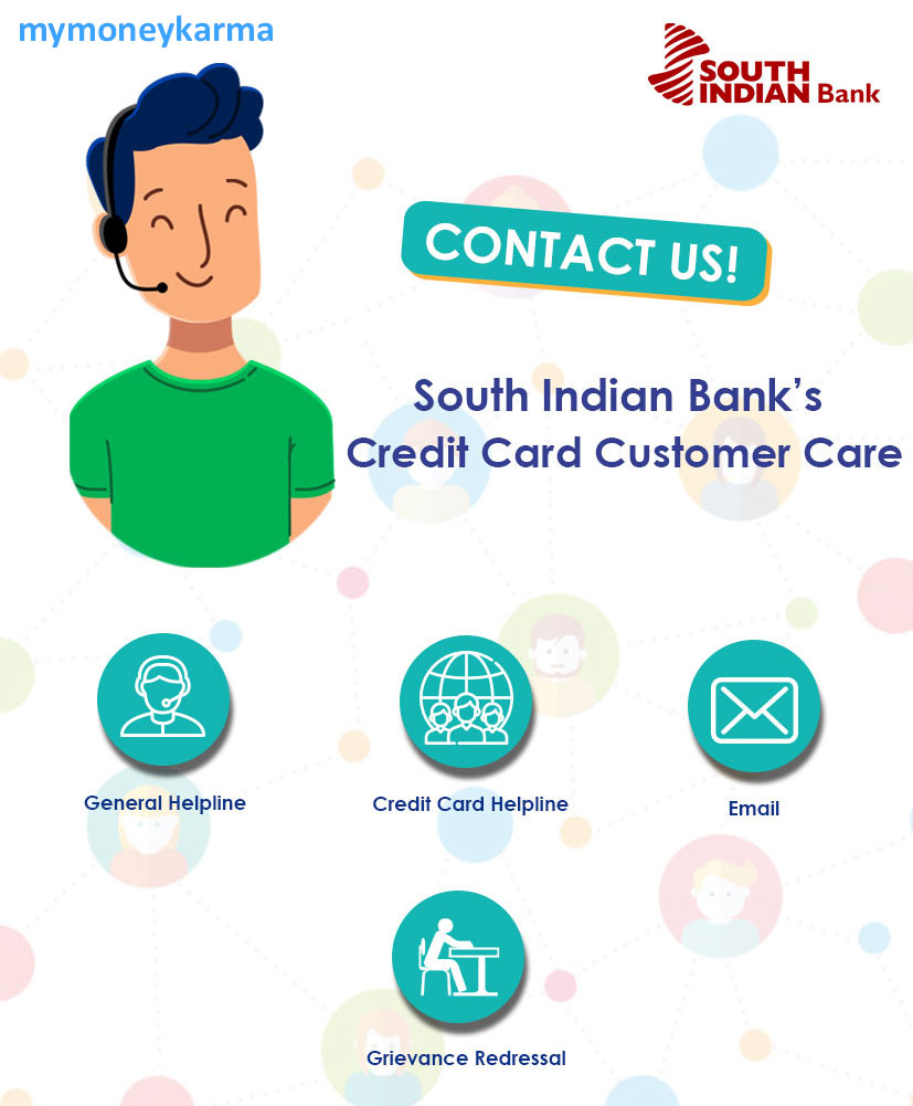 south Indian Bank credit card Customer Care