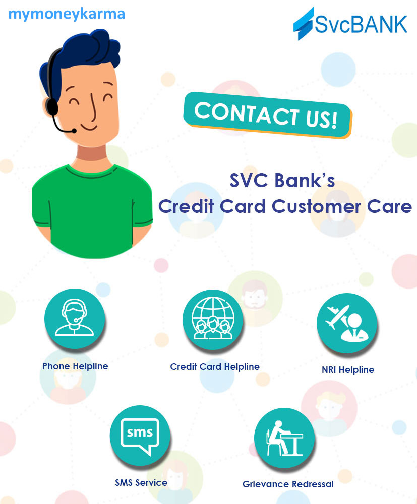 svc Bank credit card Customer Care